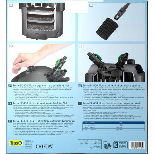 Tetra EX 400 Plus külső szűrő - töltettel